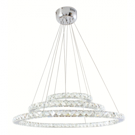 ORBIT LED CRYSTAL CHANDELIER