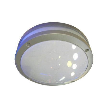 OUTDOOR ALUMINIUM FITTING GREY ROUND