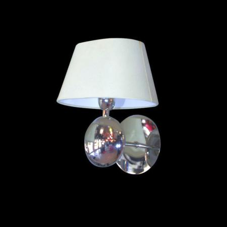 Stainless Steel Body with Glass Shade