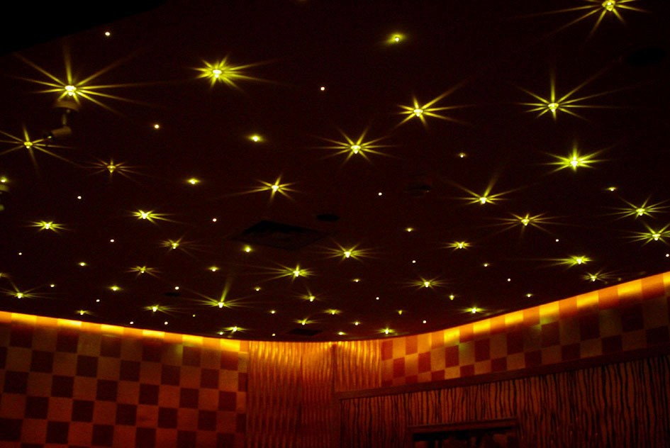 sky like ceiling with stars